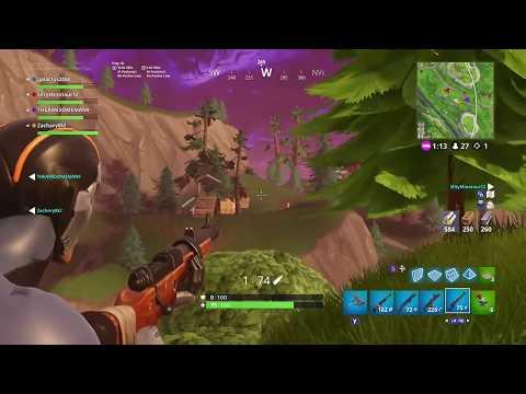 Longest hunting rifle snipe on Xbox One? (281m): Fortnite BR