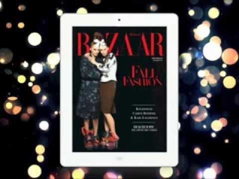 Harper's Bazaar Digital Magazine Interactive