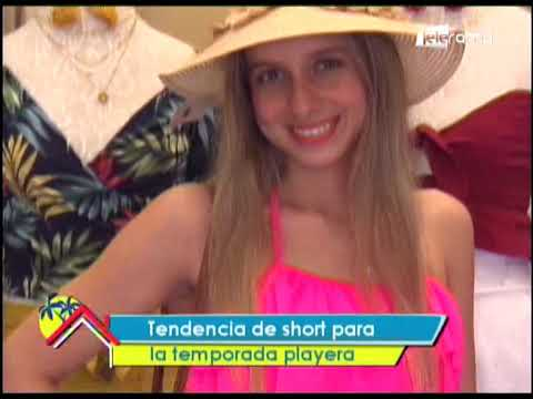 Tendencia de short para la temporada playera