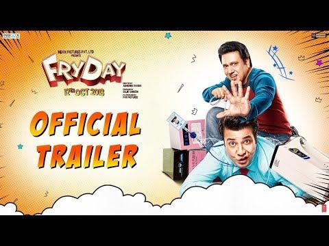 FRYDAY Official Trailer | Govinda | Varun Sharma | Abhishek Dogra | 12th October
