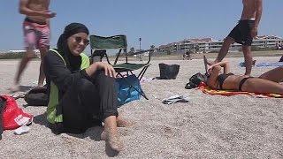 حظر لباس سباحة المحجبات على شواطئ سيسكو في كورسيكا