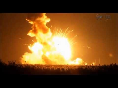 La explosion del cohete en Virginia !! ... :-O..