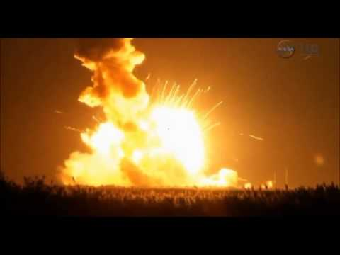 virginia: esplode razzo nasa diretto alla stazione spaziale iss