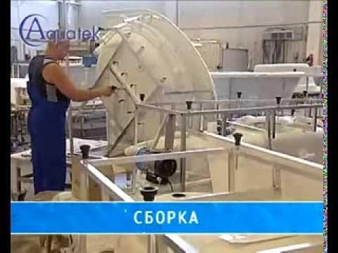 Акриловые ванны АКВАТЕК (Россия) Auqatek