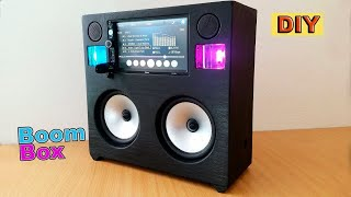 Video DIY: Portable Boombox System MP3, 3GP, MP4, WEBM, AVI, FLV Oktober 2018