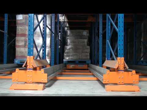 Nutech Shuttle Car Retrieving Pallet