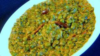 Methi Malai Mater (Fenugreek Leaves with Peas&Cream) Indian Recipe