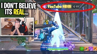 I spectated a player with YOUTUBE in his name and was SHOCKED! (I CAN'T BELIEVE THIS HAPPENED)
