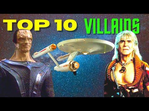 Top 10 Star Trek Villains [Star Trek Movies, TNG, DS9, Voyager, Enterprise]