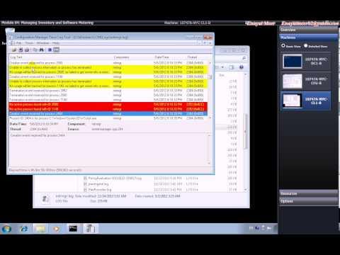 SCCM 2012 R2 Software Metering  by Enayat Meer