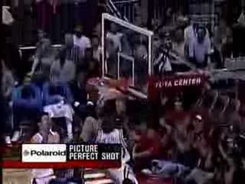 Rockets Highlights vs Mavericks - 2005 Playoffs Game 3