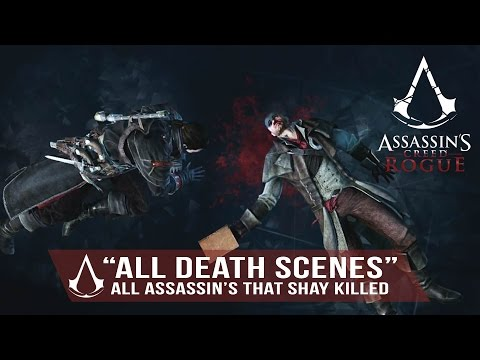 Assassin's Creed Rogue - All Assassins that Shay Killed (All Death Scenes) 1080p HD