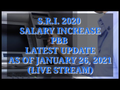 SRI, SALARY INCREASE, PBB LATEST UPDATE