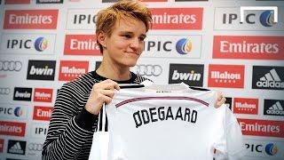 Real Madrid Sign Rising Star Martin Ødegaard