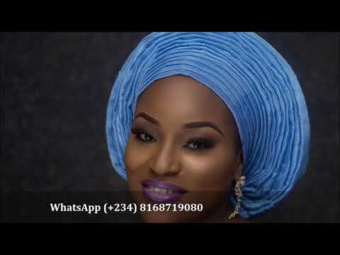 How To Tie Your Gele In 10 Seconds | AutoGele Ready Made Gele| Gele That Ties Itself!!