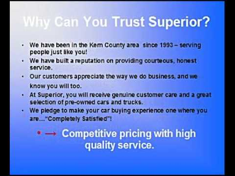 Superior Used Cars in Bakersfield, CA
