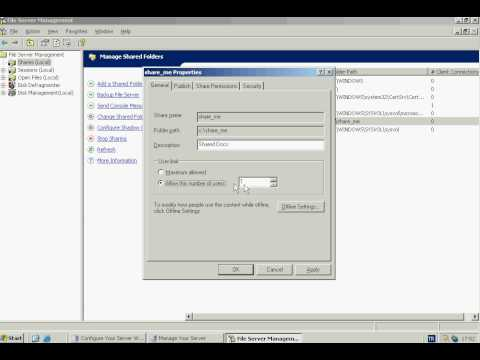 Windows Server 2003 - File Server & Shadow Copy