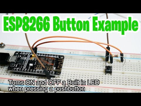 NodeMCU ESP8266 Button Example