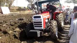 Massey Ferguson 9500 3MB reversible Plough 4*4 wd