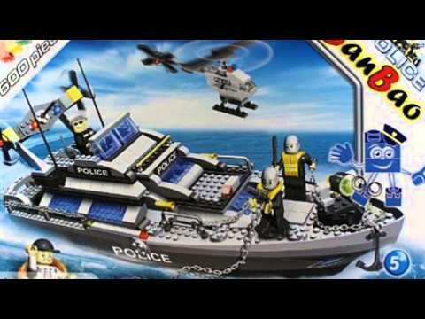 Video Todays tube of the Civil Services Large Set Police Boat