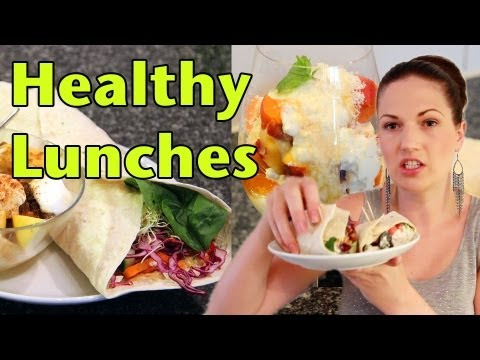 Healthy School Lunches! Delicious Recipes for Everyday