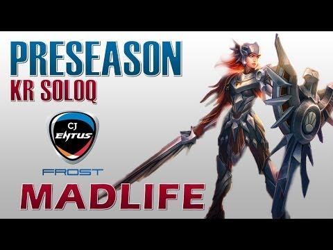 leona - Madlife duo with his teammate Space. Facebook: https://www.facebook.com/proreplays Runes and Masteries: 0:20 Pros in the game: CJ Frost Helios - Tryndamere C...