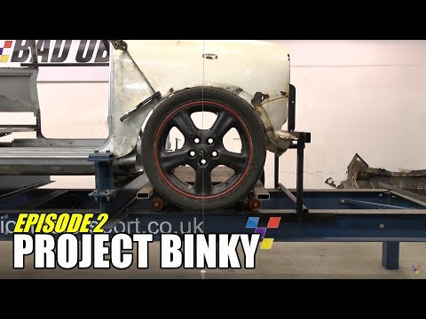 Project Binky – Episode 2 – Austin Mini GT-Four – Turbo Charged 4WD Mini
