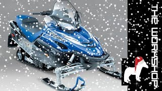 6. Yamaha RX1 - R1 engined snowmobile?