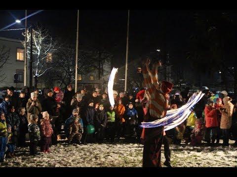 4.decembrī Inčukalna novadā svinīgi iededza svētku eglītes