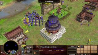 Age of Empires III The Asian Dynasties official gameplay trailer - The chinese HD 720p