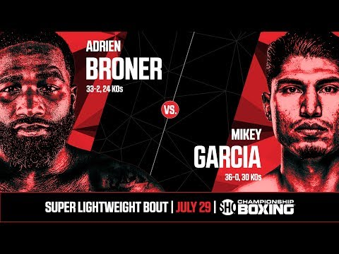 Broner v Garcia kick-off press conference