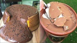 My Favorite Chocolate Cake Decorating - Tutorial Easy Make Chocolate Cake Ideas For Teenger #8