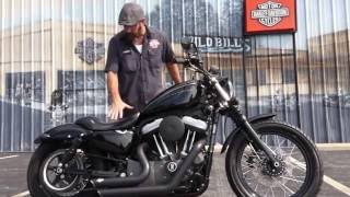 10. 2008  Harley-Davidson Nightster with Vance & Hines Short Shots!
