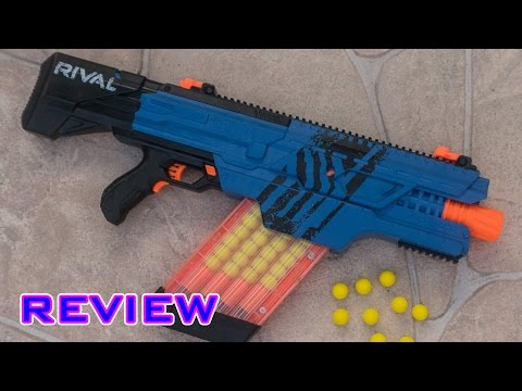 [REVIEW] Nerf Rival Khaos MXVI-4000 Unboxing, Review, & Firing Test