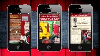 Max Armstrong's Tractor App YouTube video