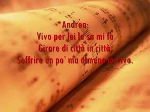 , title : 'Vivo Per Lei Lyrics - Andrea Bocelli ft. Heather Headley'