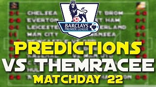 BPL Predictions Matchday 22 Ft Man City Vs Arsenal And Newcastle Vs Southampton