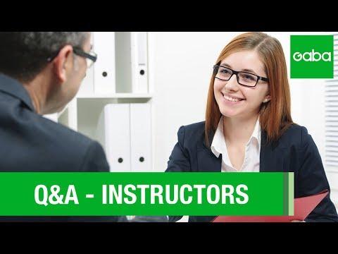 Q&A: Instructors