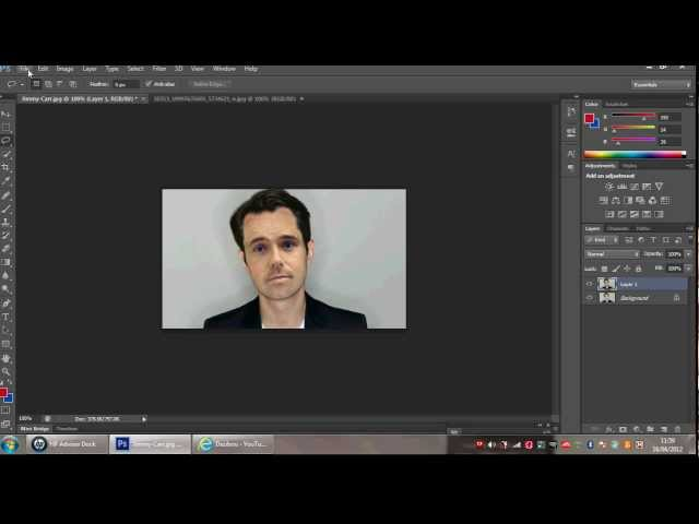 Photoshop Cs6 Face Swapping | SenzoMusic.com