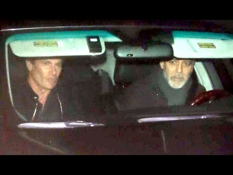 George Clooney And Rande Gerber Leave Their Wives At Home For Business Dinner At Craig's