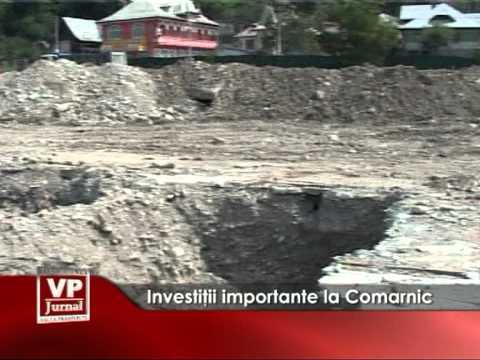 Investiţii importante la Comarnic