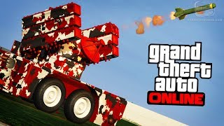 """This video shows all the vehicles upgrades that you can unlock through the Bunker research and buy in GTA Online with the free """"Gunrunning"""" update.GTA Online Updates and DLC Playlist:https://www.youtube.com/playlist?list=PLQ3KzJPBsAHlIC8pyULeikDWZTfDB9xKf===================================0:00 - Research Upgrades List 0:13 - APC SAM Battery0:57 - Ballistic Equipment Service2:13 - Half-track 20mm Quad Autocannon2:57 - Weaponized Tampa Weapons and Chassis4:30 - Dune FAV 40mm Granade Launcher5:25 - Dune FAV 7.62mm Minigun6:11 - Oppressor Missiles6:58 - MOC Rear Turrets7:55 - Anti-Aircraft Trailer Homing Missile Battery8:26 - Anti-Aircraft Trailer Dual 290mm Flak8:50 - Proximity Mines9:41 - Fractal Livery Set10:00 - Digital Livery Set10:27 - Geometric Livery Set11:03 - Nature Reserve Livery11:16 - Naval Battle Livery===================================GTA Series Videos is a dedicated fan-channel keeping you up to date with all the latest news, video walkthroughs and official trailers of the most successful video games published by Rockstar Games, including Grand Theft Auto series, Red Dead Redemption, Max Payne, L.A. Noire, Bully and many others.This channel is in no way tied to Rockstar Games or Take-Two Interactive.Follow GTA Series Videos on: YouTube - http://www.youtube.com/GTASeriesVideos Google+ - http://www.google.com/+GTASeriesVideos Facebook - http://www.facebook.com/GTASeriesNews Twitter - http://www.twitter.com/GTASeries Instagram - https://instagram.com/GTASeriesNews Vine - https://vine.co/GTASeriesFor more info and videos visit:http://www.GTASeriesVideos.com  http://www.GTA-Series.com  http://www.GTA-Downloads.com  http://www.Games-Series.com"""