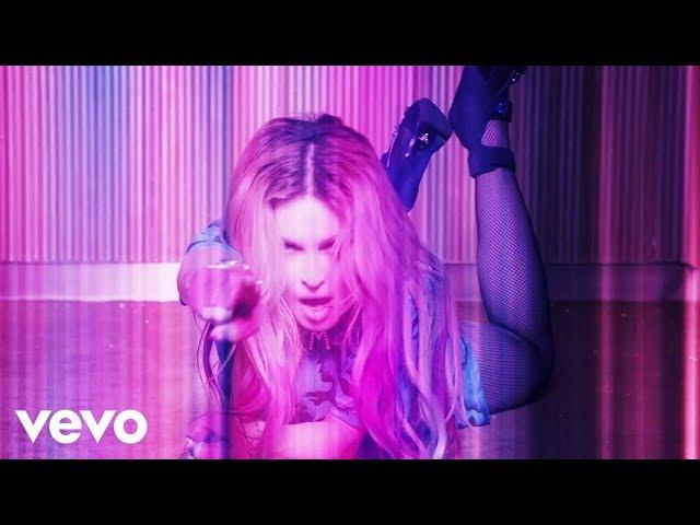 Madonna випустила кліп на ремікс Bitch I'm Madonna