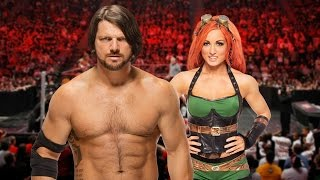 WWE's AJ Styles and Becky Lynch Talk Toys, Games, and Karl Anderson's Wife - Comic-Con 2016 by IGN