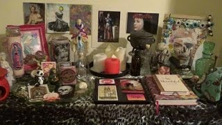 Heyyyy there, my little diamond clusters! This video contains an explanation of my set-up and then an explanation of the transformation to how things are now. LOTS of musings about my altar space, the progression of it etcetera, PLUS a Q&A at the end. This one is best served with a lovely cuppa! I hope you enjoy!Fancy chatting to me about YOUR altar space, your spellwork or your witchy journey? Do you have questions for me? Do you think I might be a good person to do some brainstorming with?You might want to consider purchasing a Creative Magick Brainstorming Session with yours truly. Click to grab the details and make your purchase:http://www.kelly-annmaddox.com/p/sh.html#!/Creative-Magick-Brainstorming-Session/p/56648309/category=14753873My altar tour video:https://www.youtube.com/watch?v=KipLXJ78bSA&t=1013sMother Mary video:https://www.youtube.com/watch?v=iRK-l9zzFu0&t=465sHel video:https://www.youtube.com/watch?v=EH_3oEJ9t1A&t=325s_______________________________ #blacklivesmatterhttp://blacklivesmatter.com/http://www.twocc.us/ http://www.blackgirlsrockinc.com/_______________________________ Visit my online home and shop: http://www.kelly-annmaddox.com/Connect with me on Facebook: https://www.facebook.com/Kelly-Ann-Maddox-293447970667091/?ref=tn_tnmnFollow me on Twitter: https://twitter.com/kellyannmaddoxFollow me on Instagram: http://instagram.com/kellyann_maddox/Listen to me on Soundcloud: https://soundcloud.com/k-f-maddoxHang out with me on Periscope: http://www.periscope.tv/KellyAnnMaddox Send me snail mail at:Kelly-Ann Maddox83 Ducie StreetManchesterM1 2JQUK