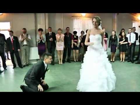 Fajny pierwszy taniec Ani i Marcina - na wesoło, mix