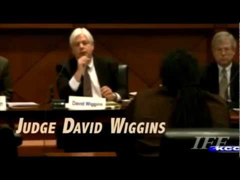 Phony Family Leader smear of Iowa Judge David Wiggins; Perps: Bob Vander Plaats / NOM Video