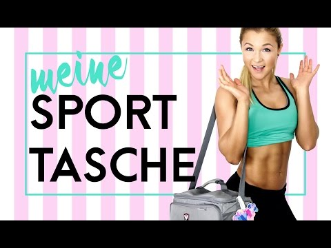What's in my GYM-BAG?!? Fitness - Edition | Meine Gadgets | Sophia Thiel