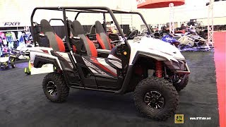 7. 2018 Yamaha Wolverine X4 Special Edition Side by Side - Walkaround - 2017 Drummondville ATV Show