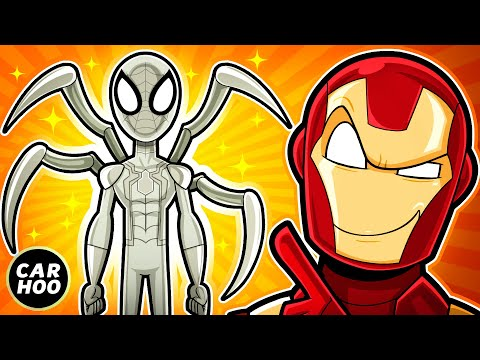 IRON MAN MADE SPIDEY A NEW SUIT